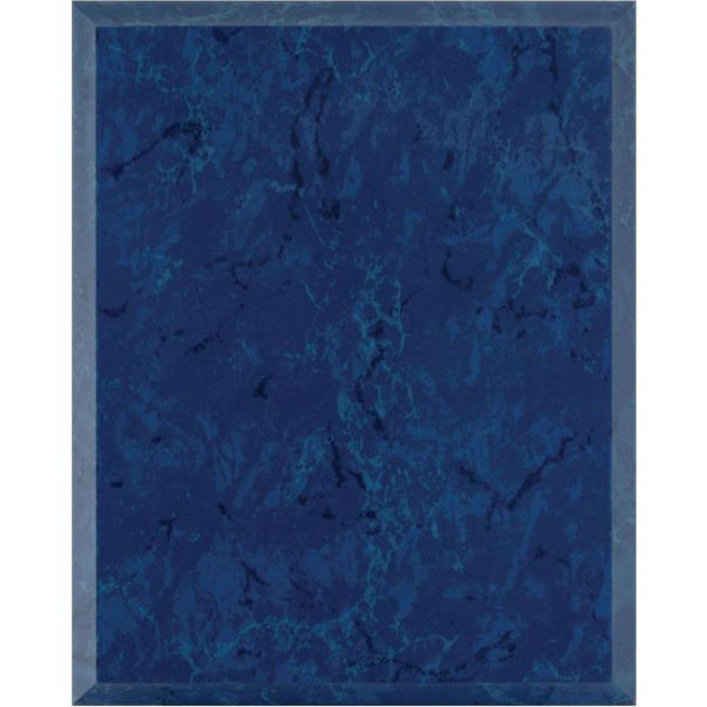 troph es gravures expert plaque sratifi marbr bleu. Black Bedroom Furniture Sets. Home Design Ideas