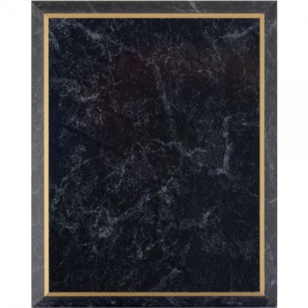 Stratifi marbr noir bordure for Prix d une plaque de marbre