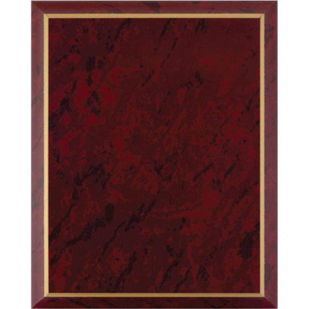 troph es gravures expert plaque marbr rouge. Black Bedroom Furniture Sets. Home Design Ideas