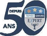 TROPHÉES GRAVURES EXPERT Logo